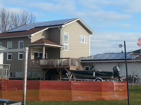 10kw Solar Rooftop Microfit System Enviro Energy